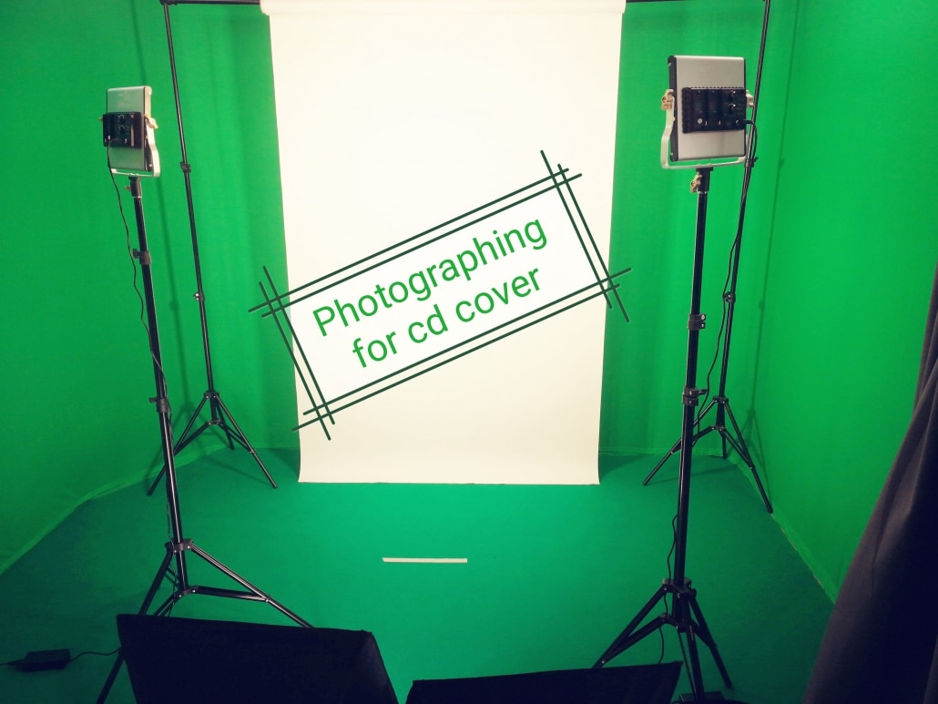 Stanza Master Studio con green screen